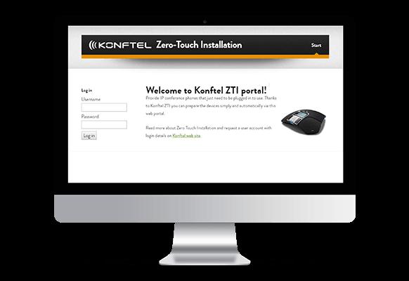 Konftel 300IP ソフトウェア