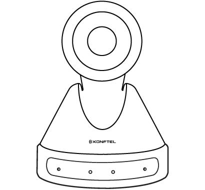 Konftel Cam50 Outline